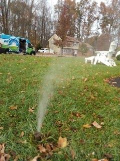 Florham Park, NJ - 10 zone sprinkler system being winterized in Florham Park!!!