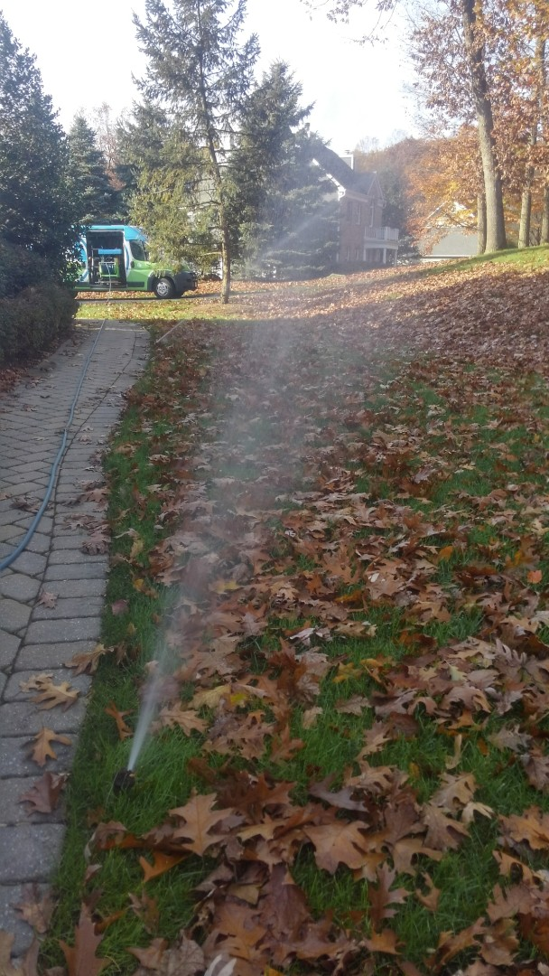 Morristown, NJ - Winterize irrigation system