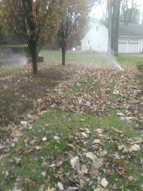 Florham Park, NJ - Winterizing sprinkler systems and doin repairs