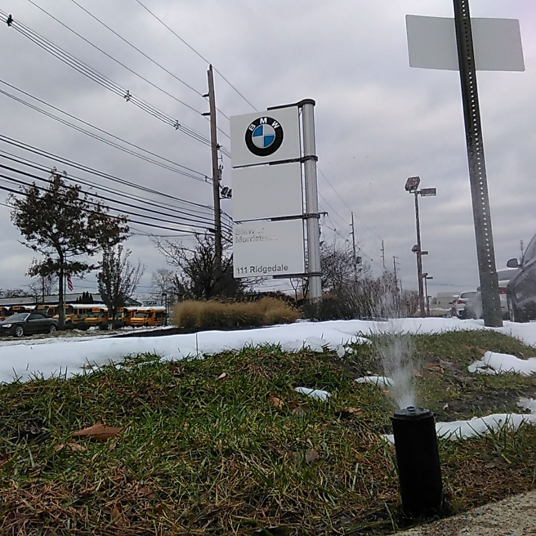 Morristown, NJ - Even BMW of Morristown chooses the best irrigation company in North Jersey