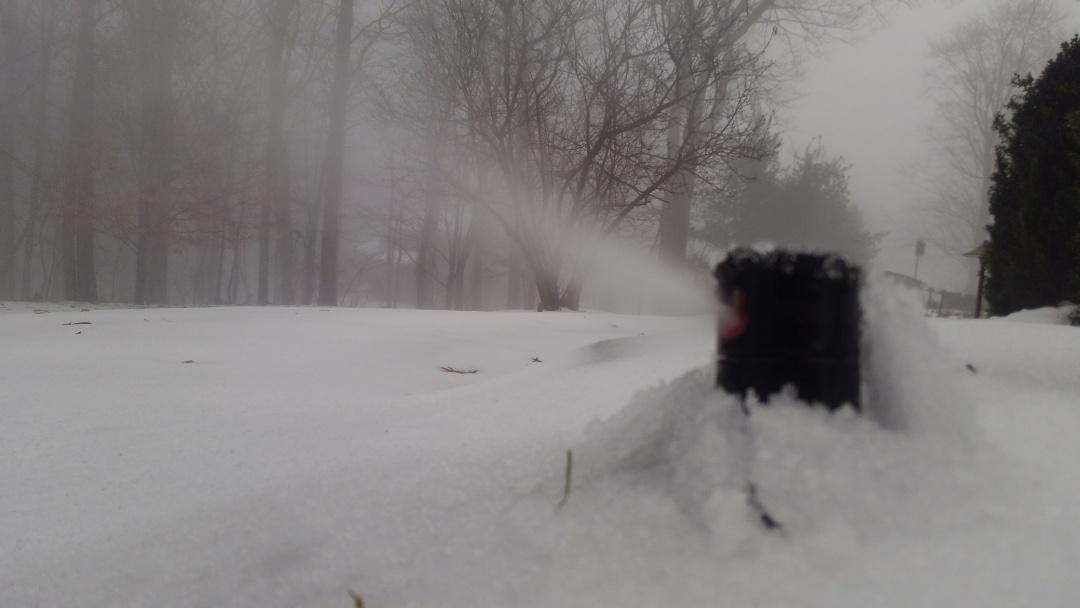 Washington Township, NJ - Winterization of the irrigation system