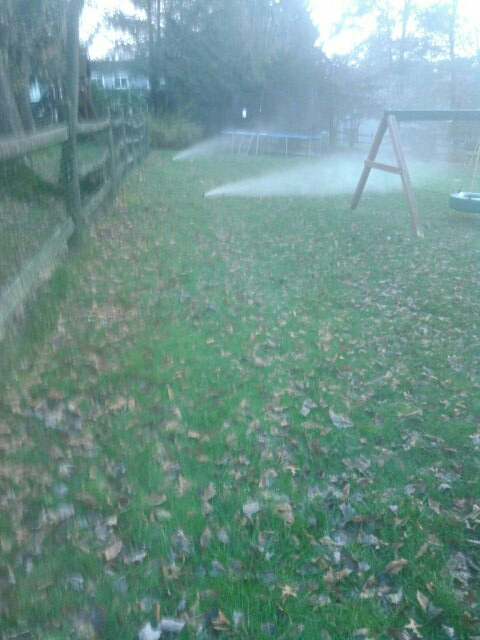 Livingston, NJ - Winterizing sprinkler systems and doin repairs hurry its getting cold winter is coming