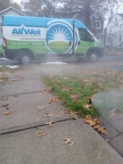 Bedminster Township, NJ - 3 zone sprinkler system being winterized in Summit!!!