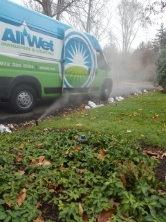 Bedminster Township, NJ - 7 zone sprinkler system being winterized in Short Hills!!!