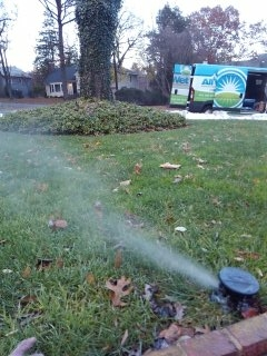 Bedminster Township, NJ - 11 zone sprinkler system being winterized!!!