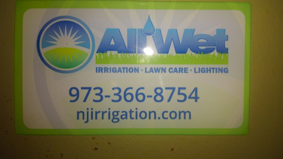 Winterize irrigation system. All wet irrigation is Always at your service!