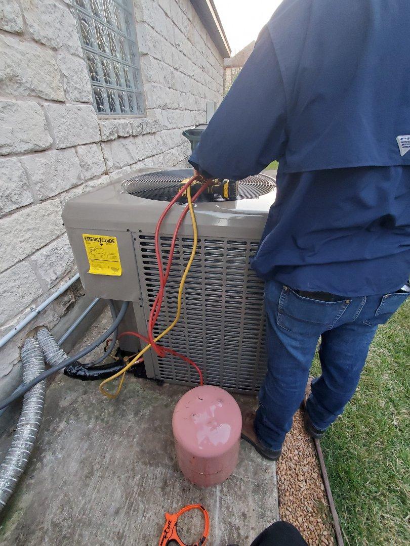 Austin, TX - Installing York HVAC systems!