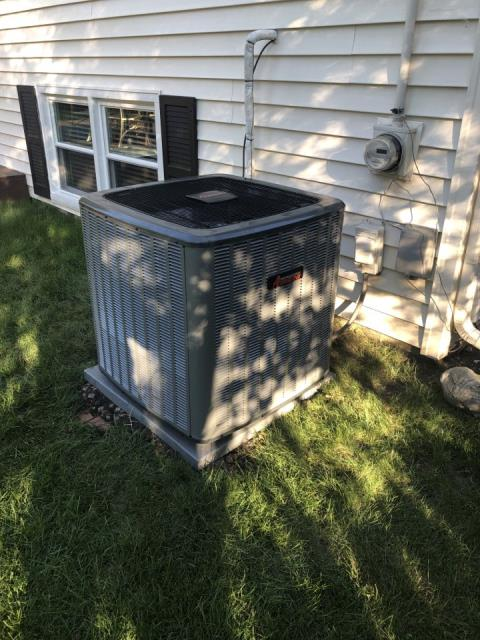Naperville, IL - Did a Total System Installation with an Amana system for a great family in Kings Terrace neighborhood.