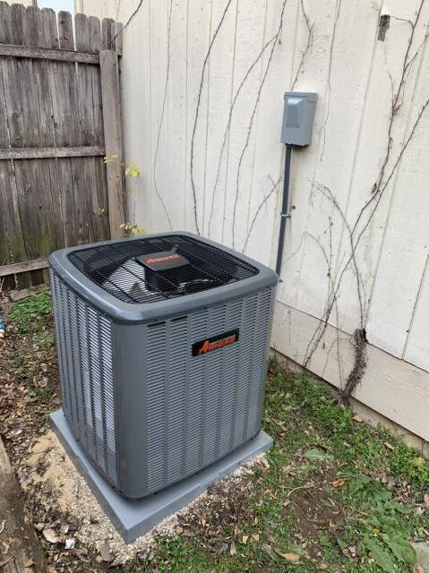 Fort Worth, TX - Performed an ac installation at this home in Fort Worth.