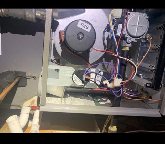 Fort Worth, TX - Repaired a gas furnace in Fort Worth.