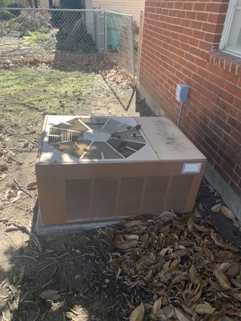Keller, TX - Provided a free estimate to replace an AC unit