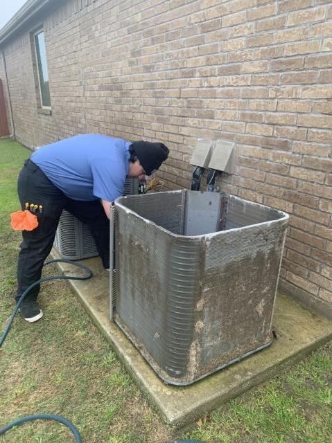 Haslet, TX - Performed an AC tune up in Haslet