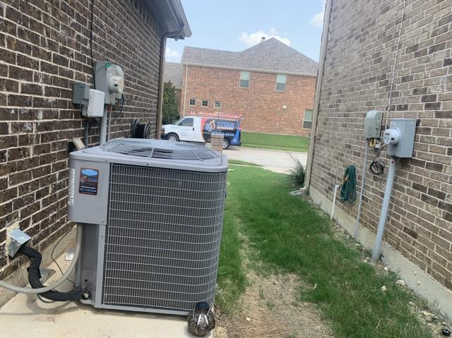 Fort Worth, TX - Performed an AC check up in Fort Worth