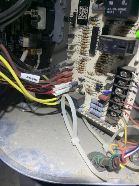 Fort Worth, TX - Replaced a control board on a heat pump in Fort Worth