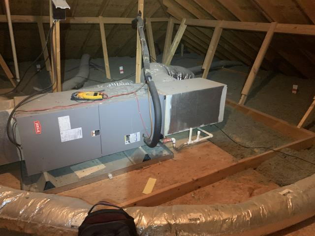 Performed a heater check up in Hurst