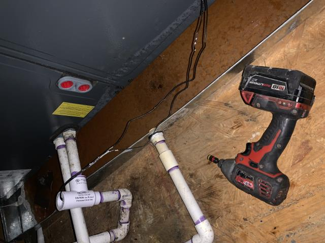 Added a flood prevention switch to an an unit in Grapevine