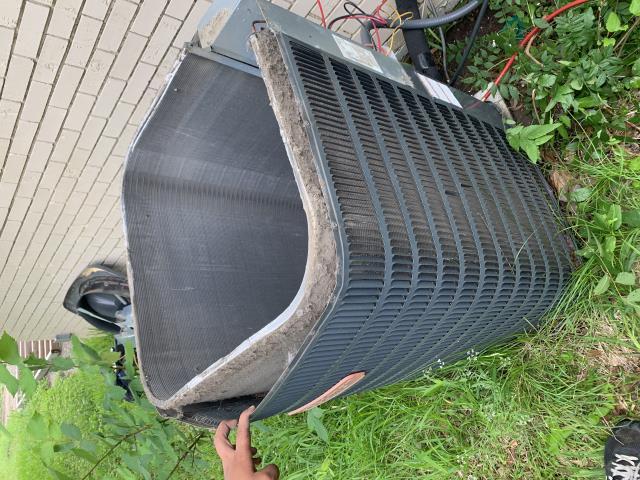 Cleaned a heat pump in Grapevine