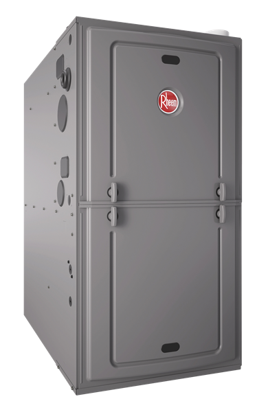 Weehawken, NJ - All Year Plumbing Heating and Air Conditioning supply and install Rheem gas furnace in Weehawken, NJ