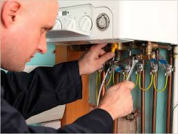 Hoboken, NJ - All Year Plumbing Heating and Air-conditioning boiler repair at Hoboken, NJ.