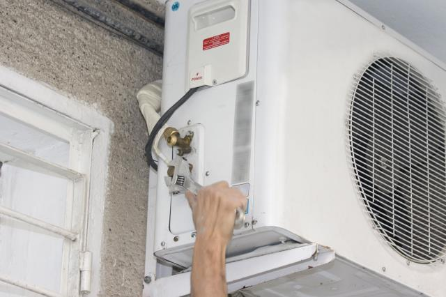 Morristown, NJ - All Year Plumbing AC repair in Morristown, NJ.