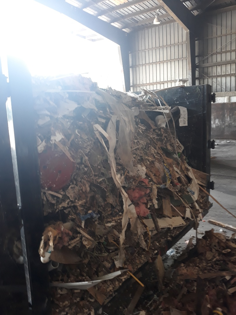 Baker, FL - Take a another load to the landfill doing for the customer.