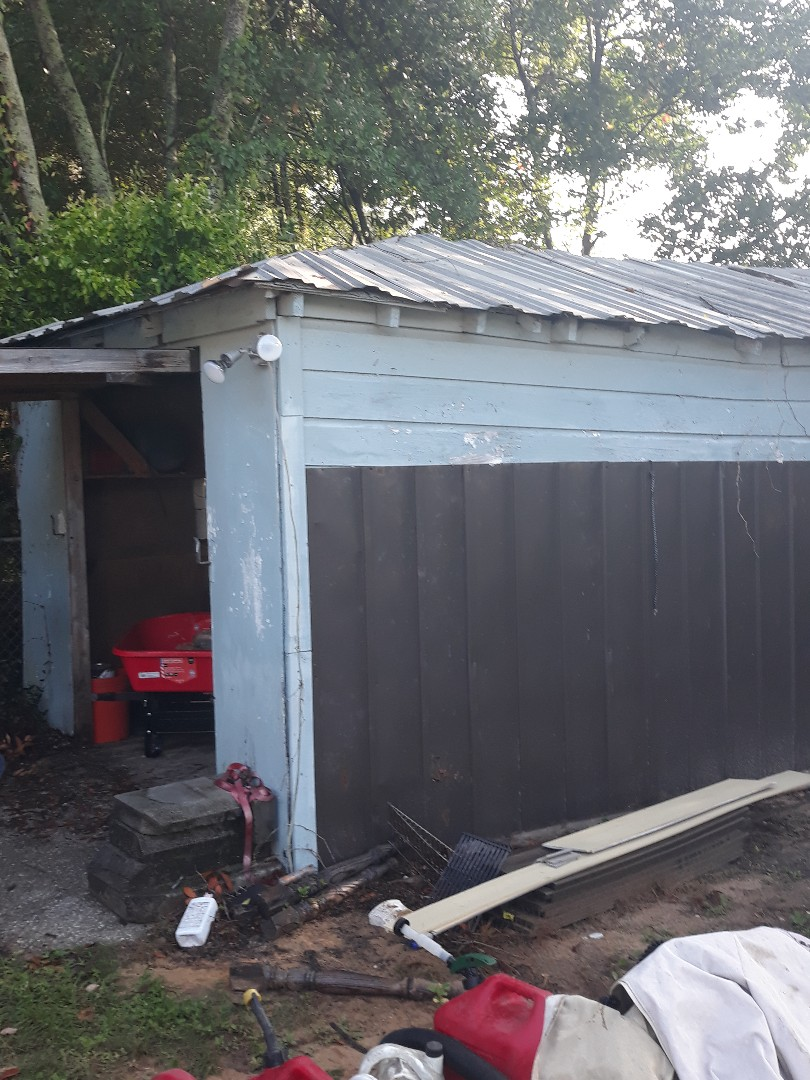 Good morning a shed tear down for a repeat customer