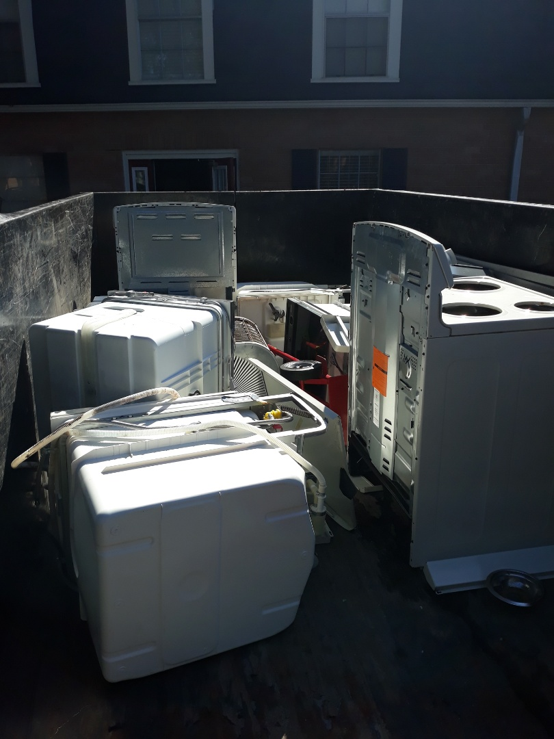 Remove appliances from local apartment complex
