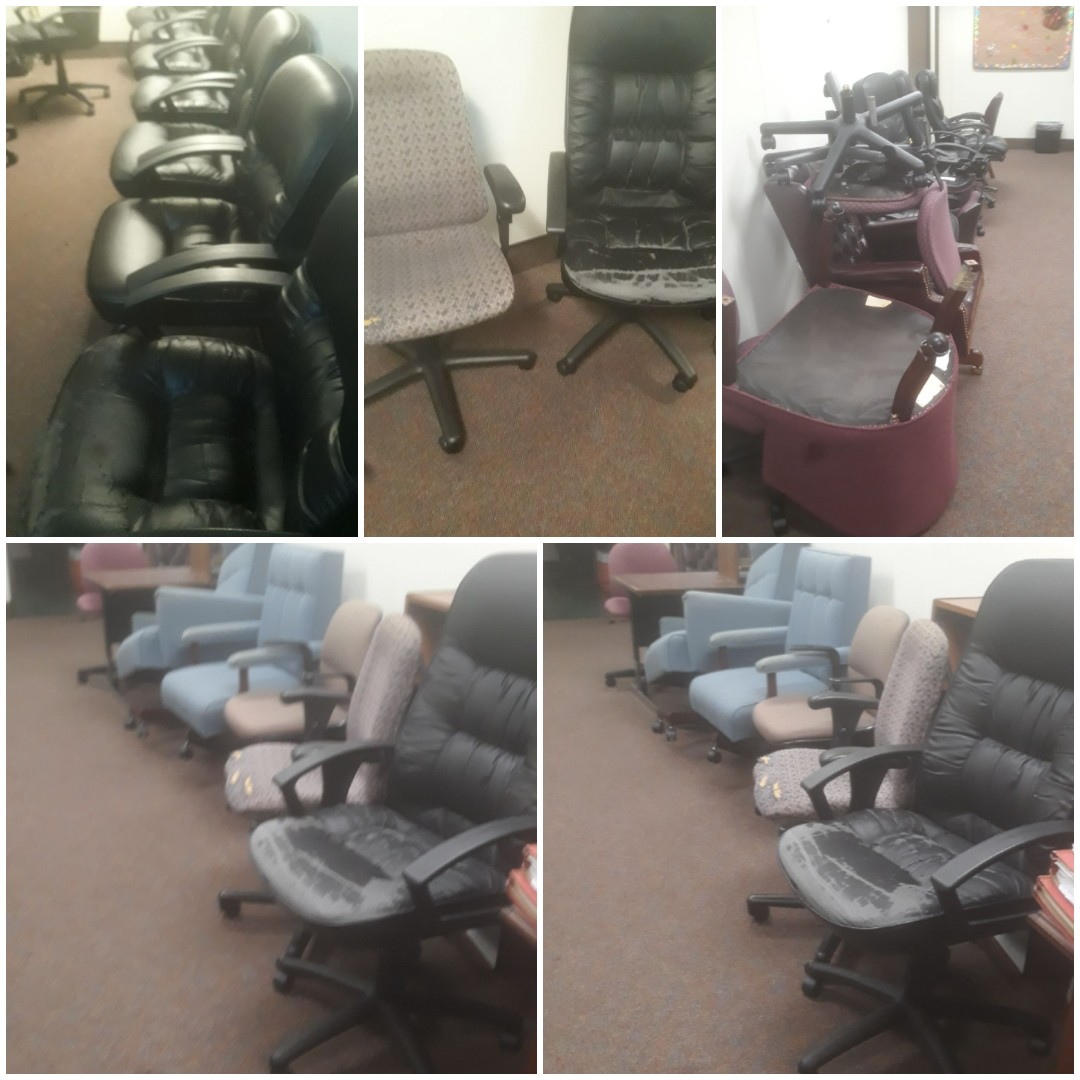 Office furniture removal quote in Downtown Pensacola