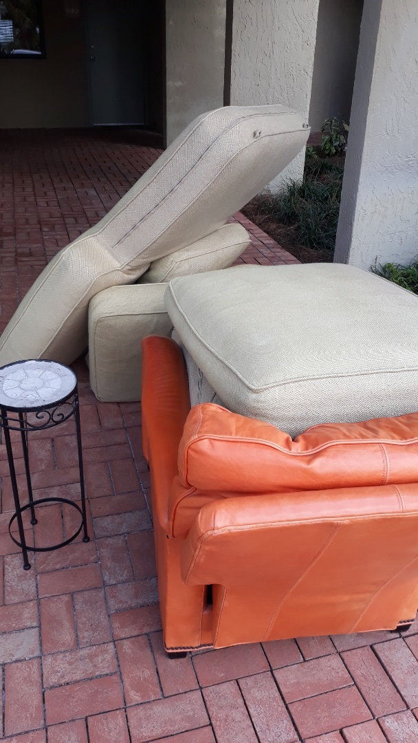 Remove old furniture for a customer and a mattress