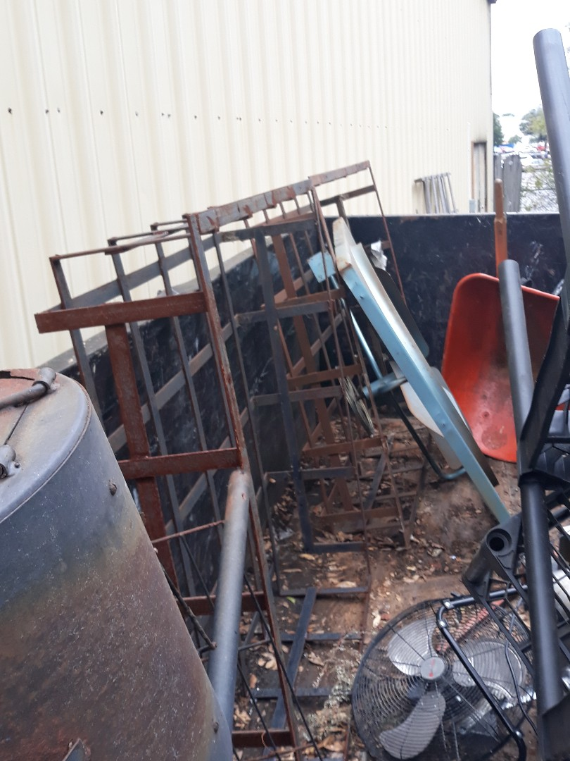 Pick up scrap metal from local business