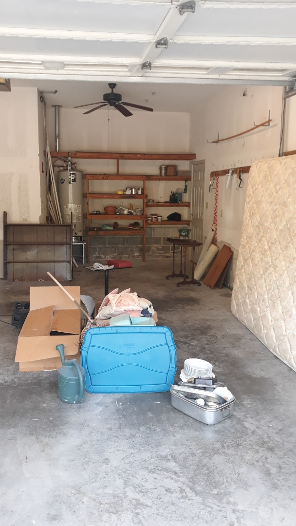 Cleanout garage today for a repeat customer here in Gulf Breeze fl