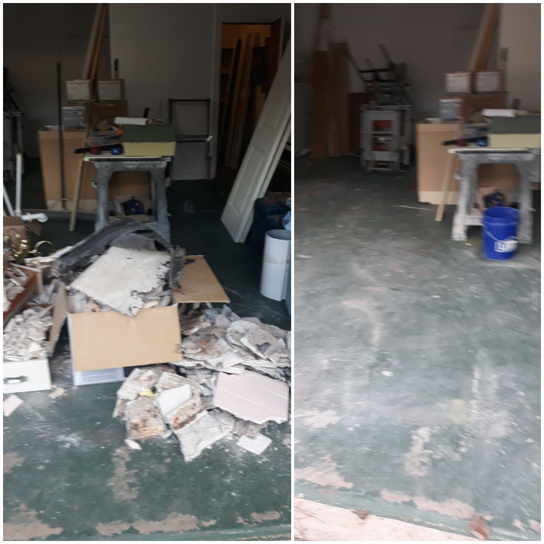 Remove construction debris and wood debris for a customer today in Pensacola fl