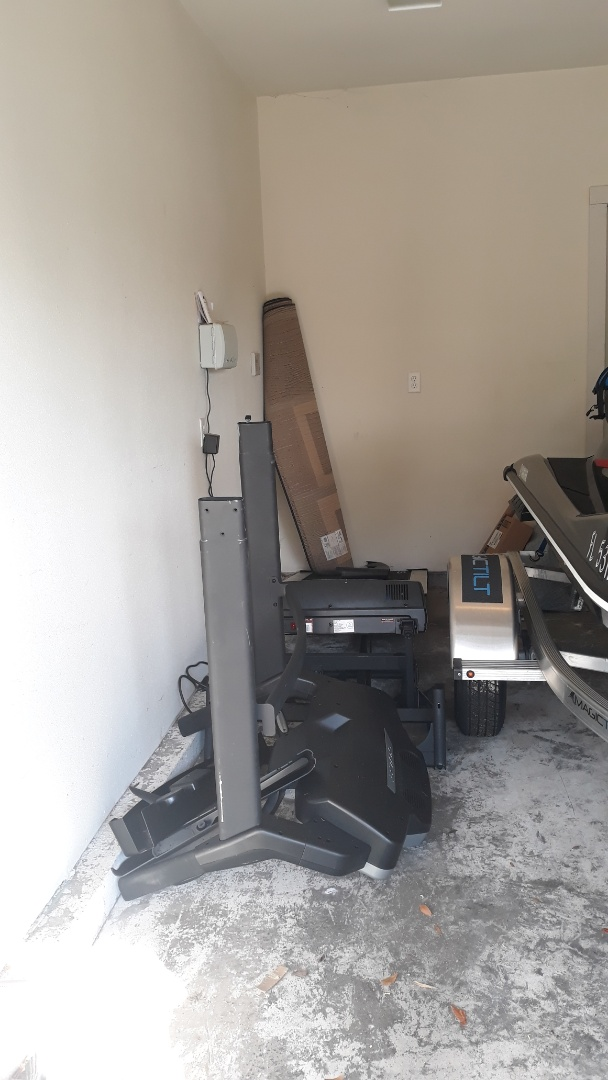 Just finish remove old treadmill for a customer in Pensacola fl