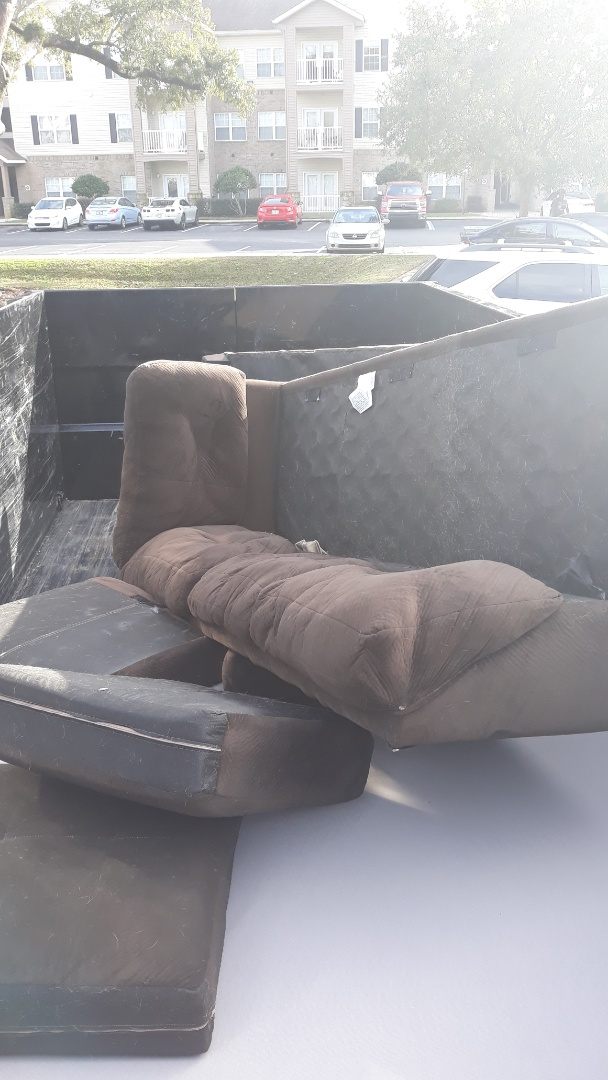 Just remove a old couch for a customer today here in Pensacola fl