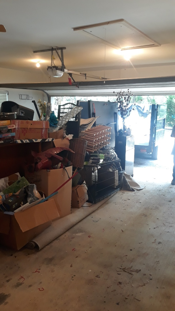 Garage cleanout for us today stay safe