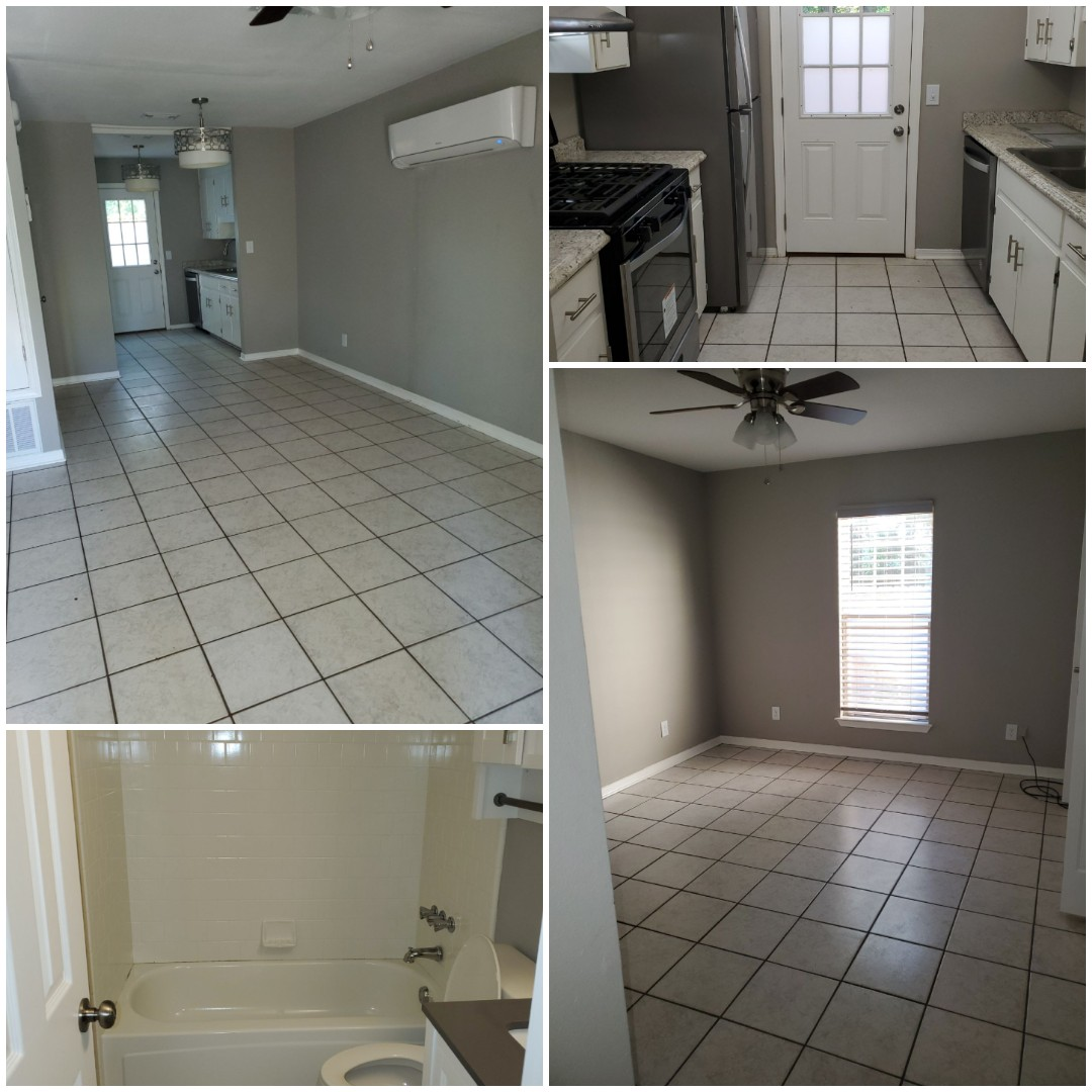 Move out deep clean completed for cute apartment in Pensacola for one of our property management clients.  The team was able to get rid of the pet smell and stained walls!   Property ready for the next tenant!!!