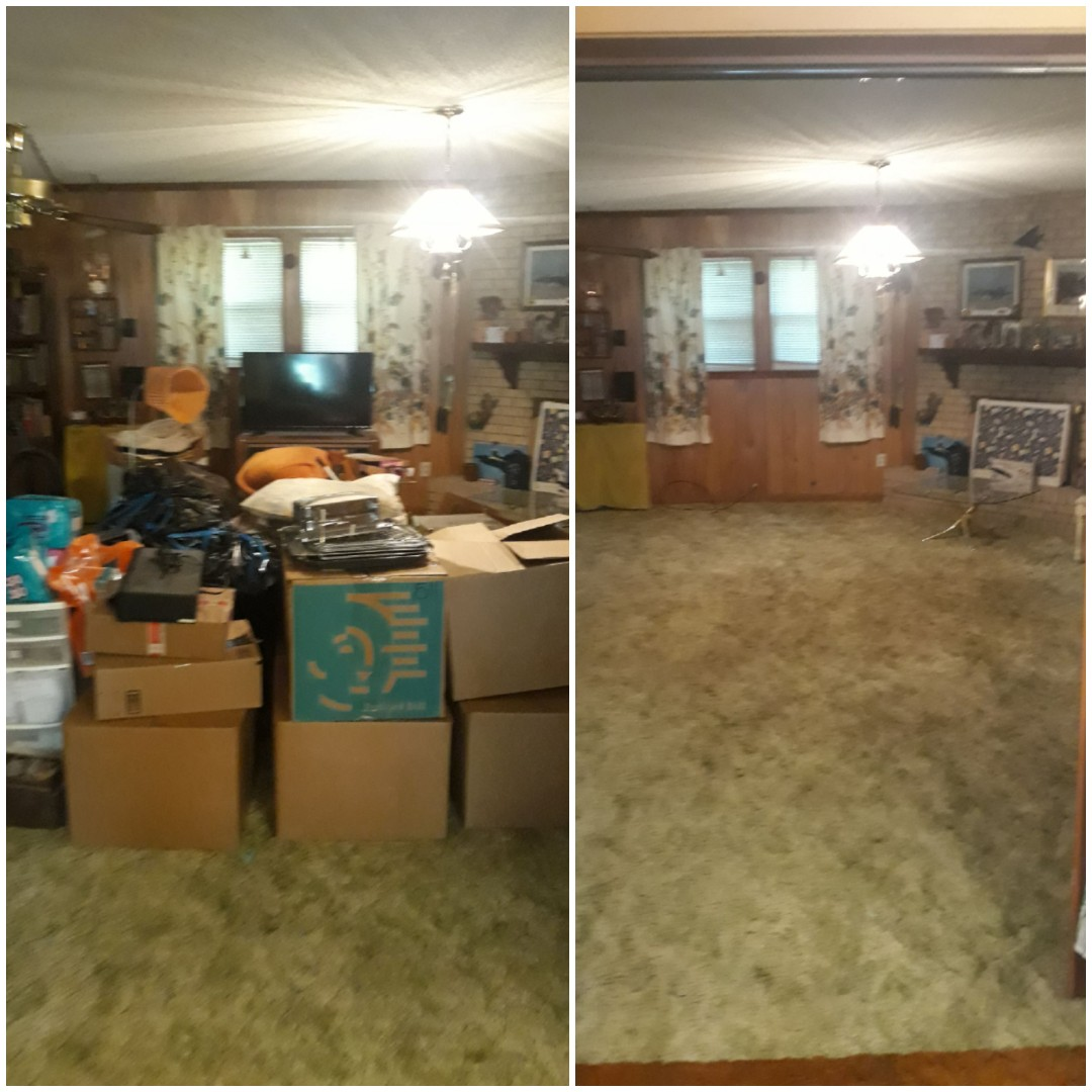 Just finish doing a cleanout for a really nice person this morning