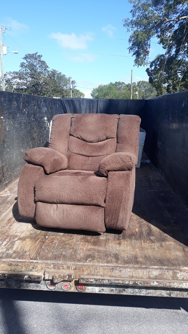 Just finish removal this recliner from a customer home...