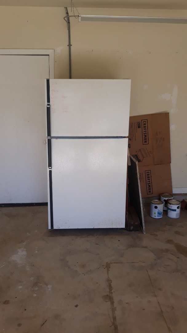 Refrigerator removal for a realtor today