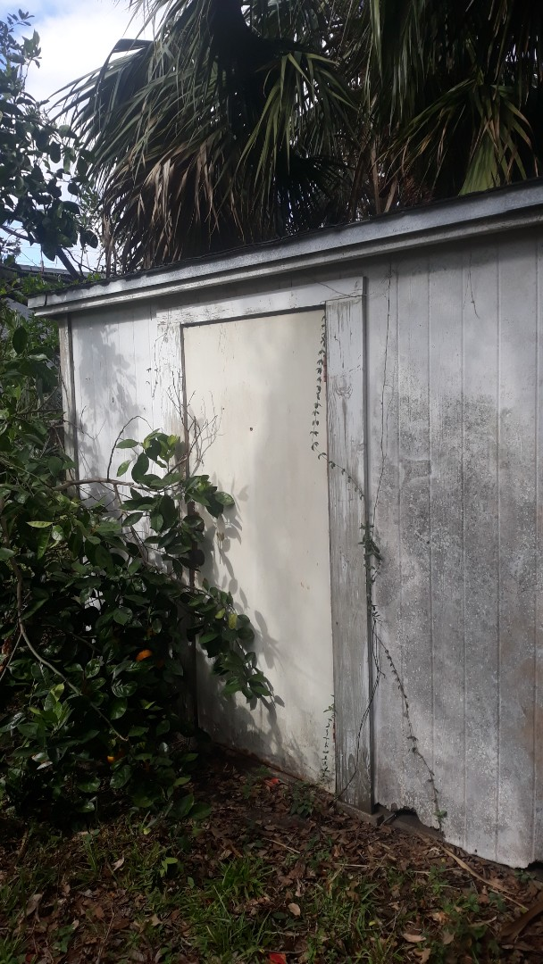 Giving a quote today on removal of old shed