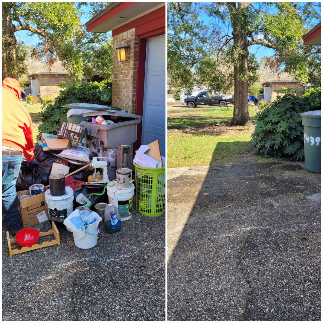 Good afternoon just finished doing a cleanout removal all trash and debris for a realtor today