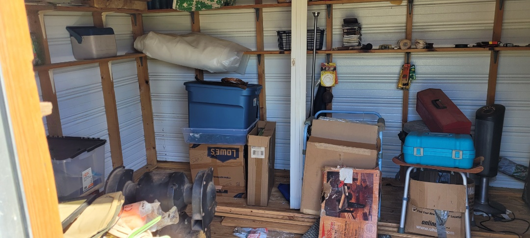 Getting ready to do a garage cleanout today