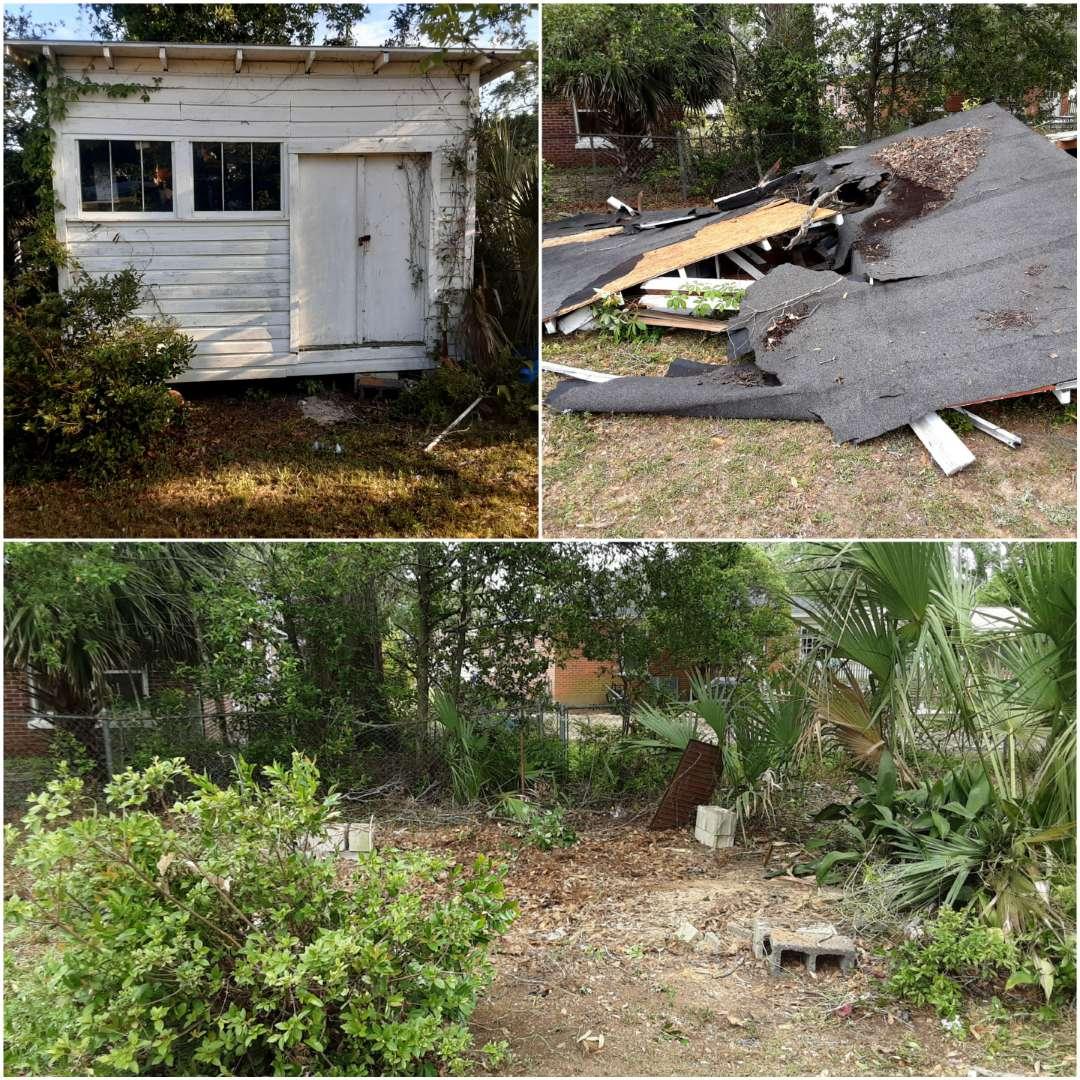 Shed demo  / you can Thank S.O.S