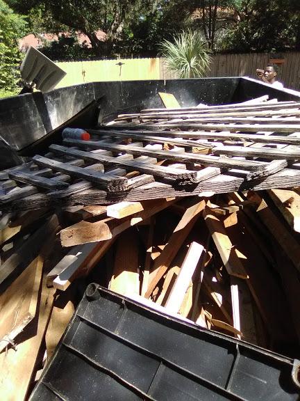 We also provide demolition services and debris removals. We'll even remove miscellaneous junk.