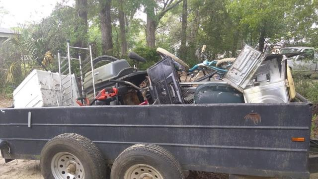 Something Old Salvage offers garbage removal services in Escambia and Santa Rosa counties.