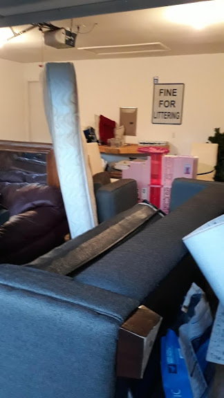 Large, bulky items such as sofas, mattresses, pianos, hot tubs, etc. take up more space and are usually not recyclable or salvageable and thus, will have to be disposed at a landfill.