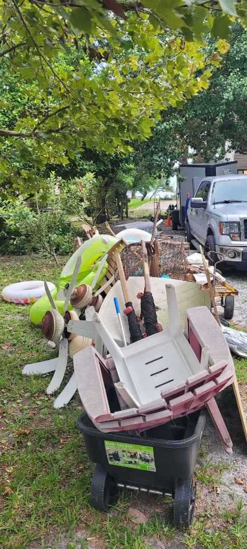 Got a remove all trash and debris from customer front yard today