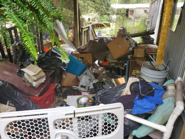 Something Old Salvage will come to the property and get rid of any debris left behind.