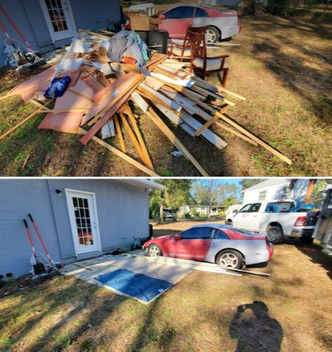 We can safely demolish, remove, dismantle, and dispose of your shed correctly and in no time.