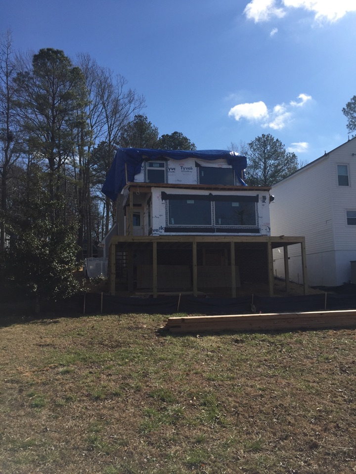 Chesterfield, VA - Monster job, total upstairs renovation, new addition deck and more, stay tuned for some updates on this one of a kind job.